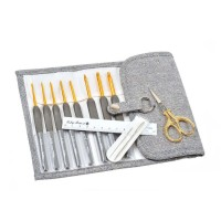 Tulip Etimo Chrochet Hook Set Gold