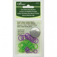 Clover - Soft Stitch Ring Markers small/large