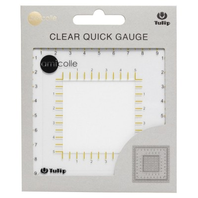 Tulip - Quick Gauge, clear