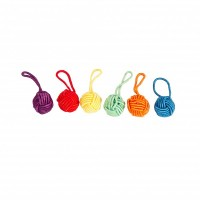 Yarn Ball Stitch Markers
